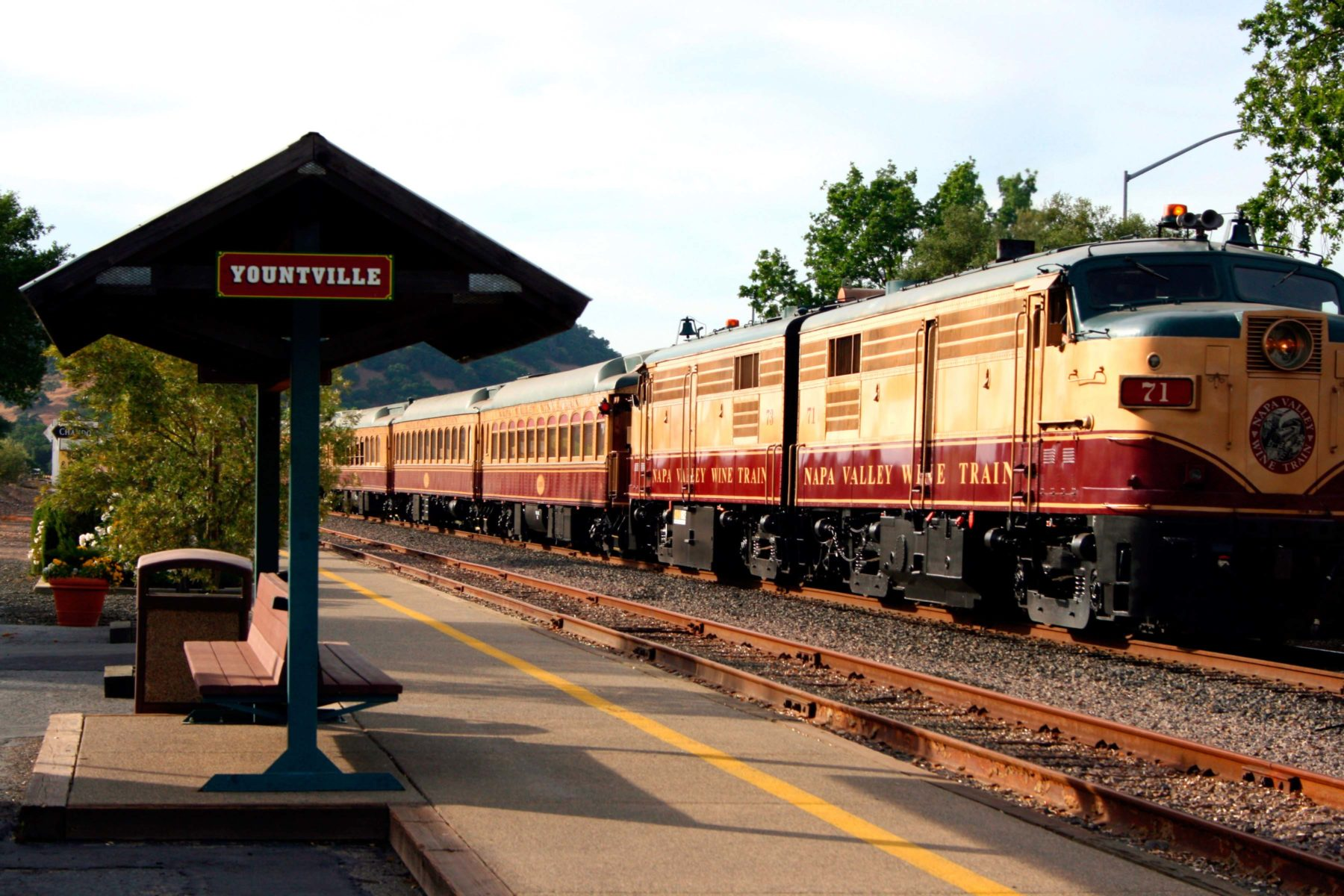 Tips for Riding the Napa Valley Wine Train