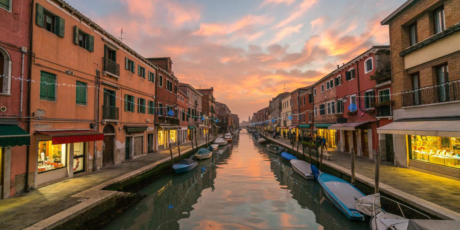 Murano To Burano.Venice Day Trip The Islands Of Murano And Burano