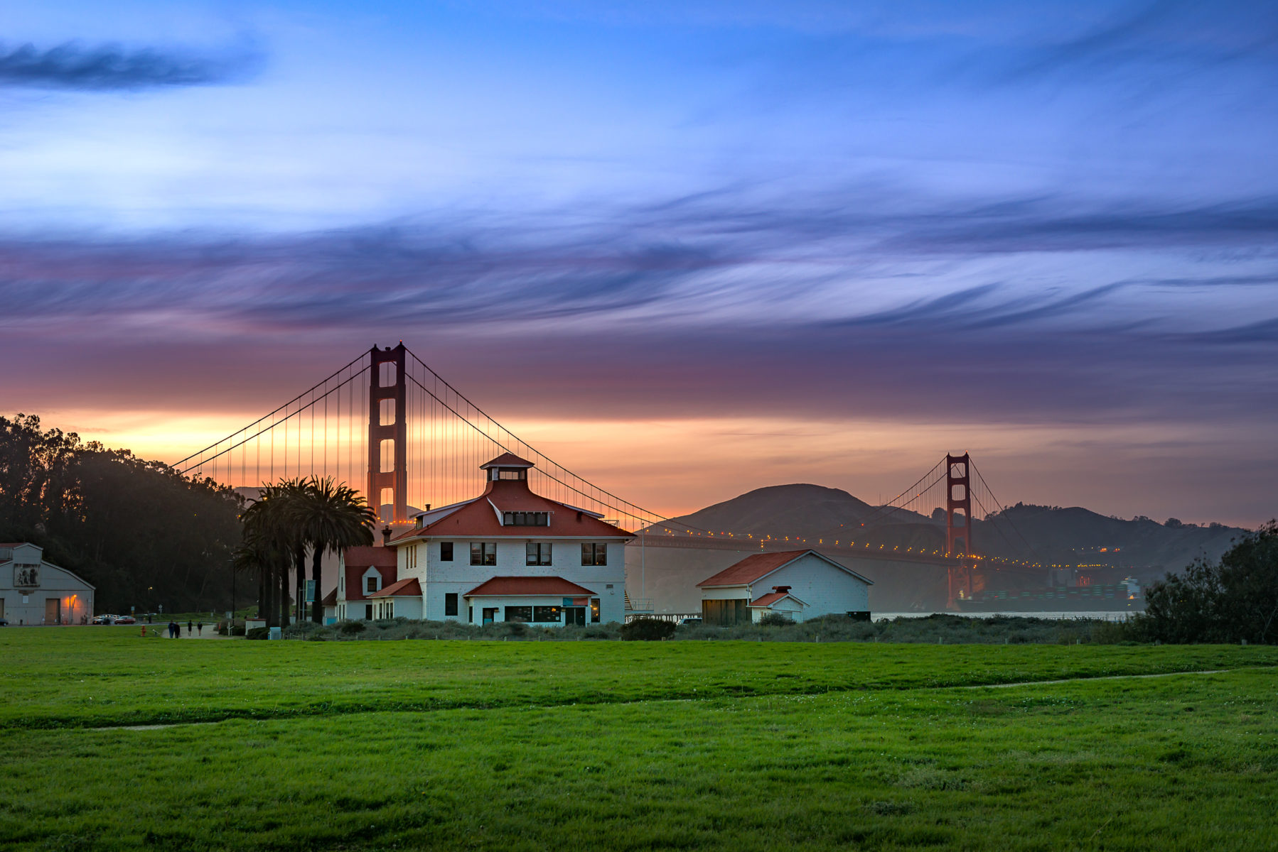 San Francisco scenic routes
