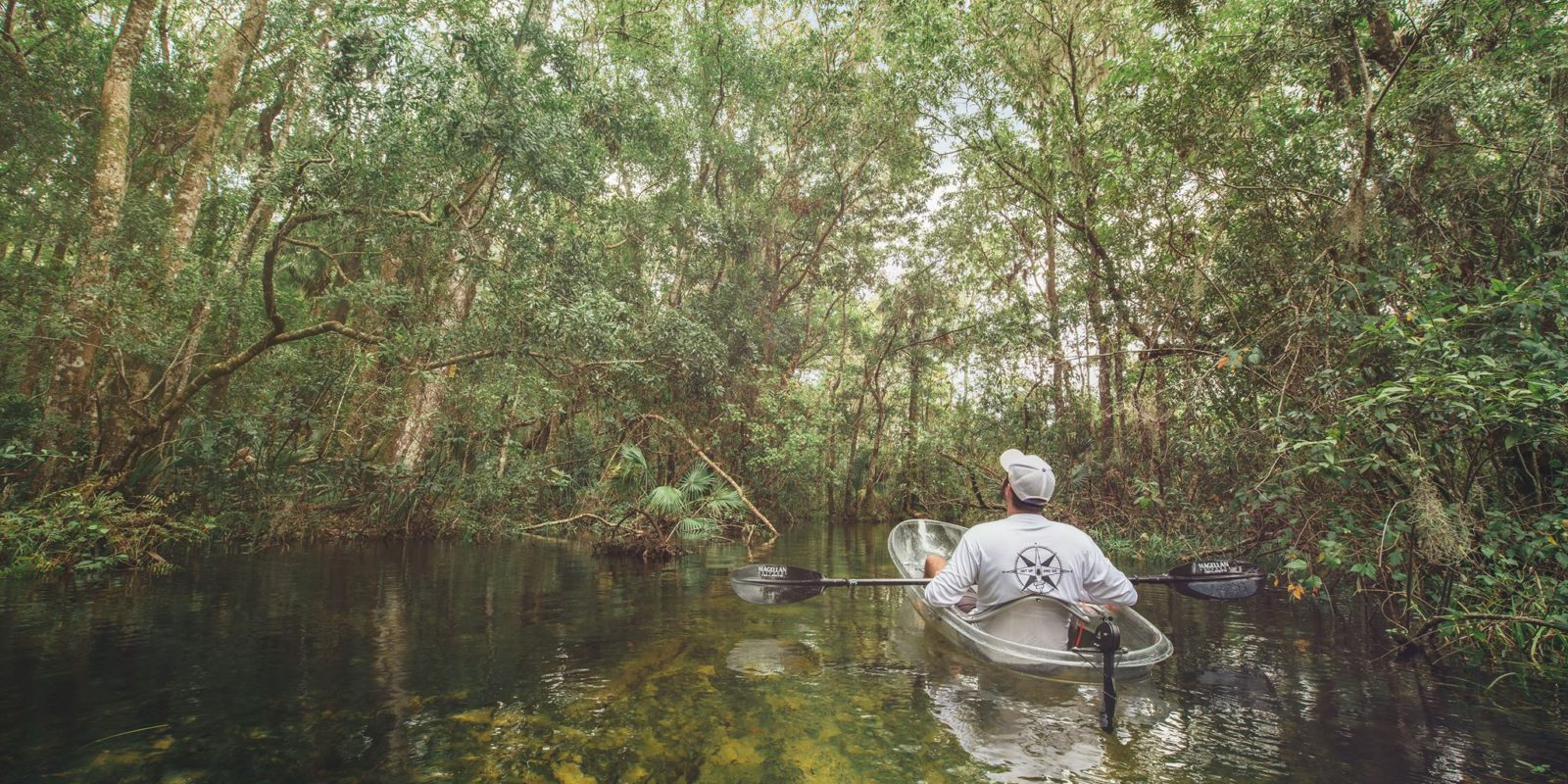 Exploring Central Florida on a kayak