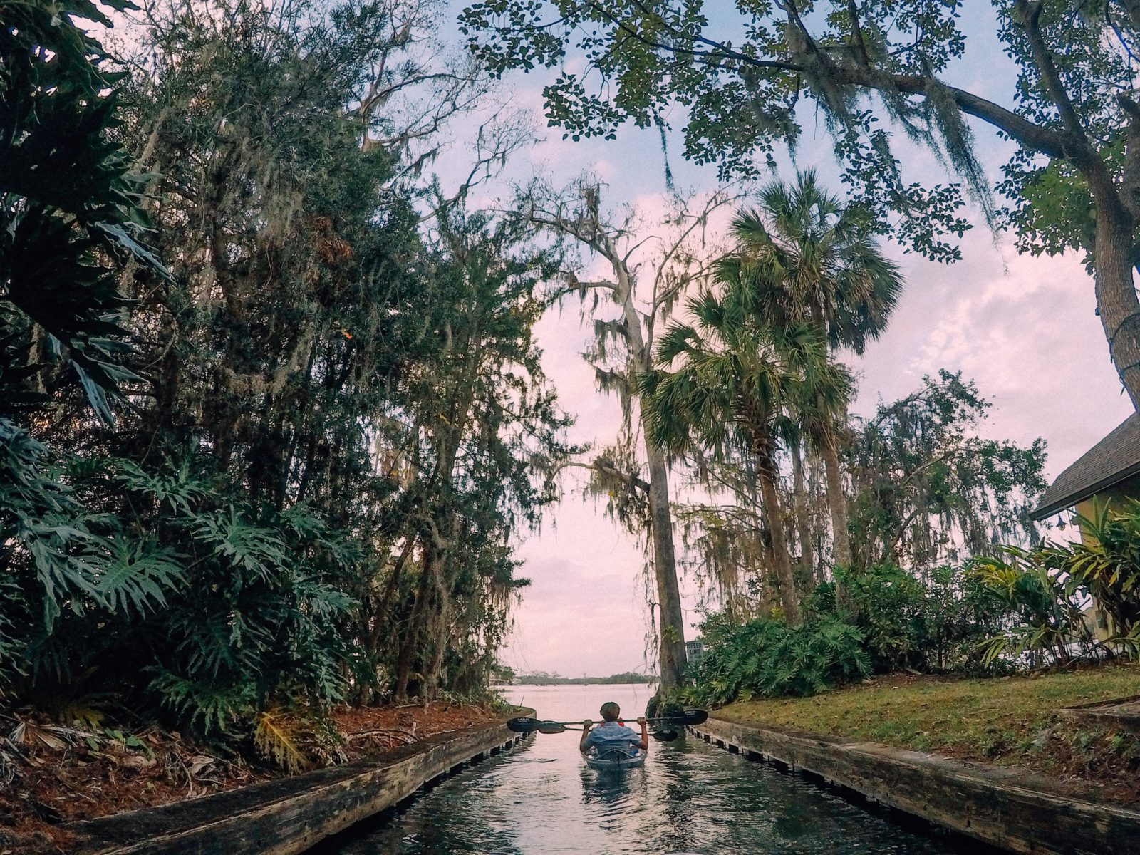 Exploring Winter Park, Florida's canals