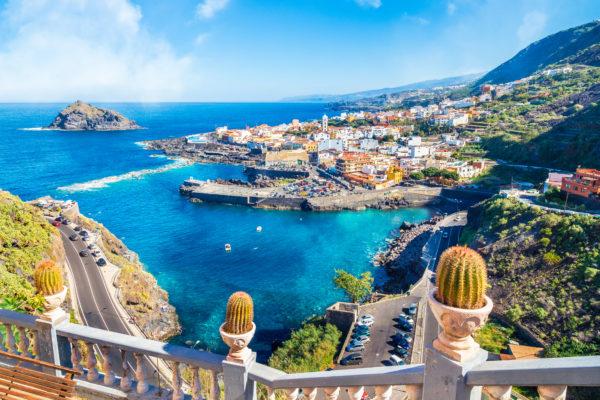 Sweeping ocean views in Tenerife