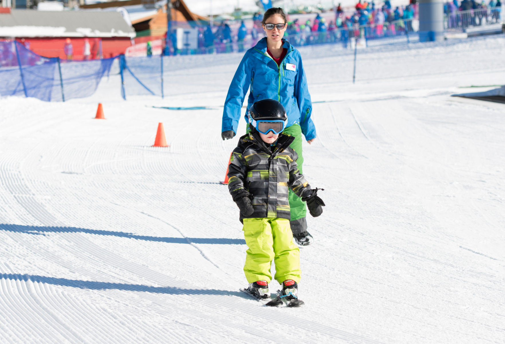 Ski school for the whole family