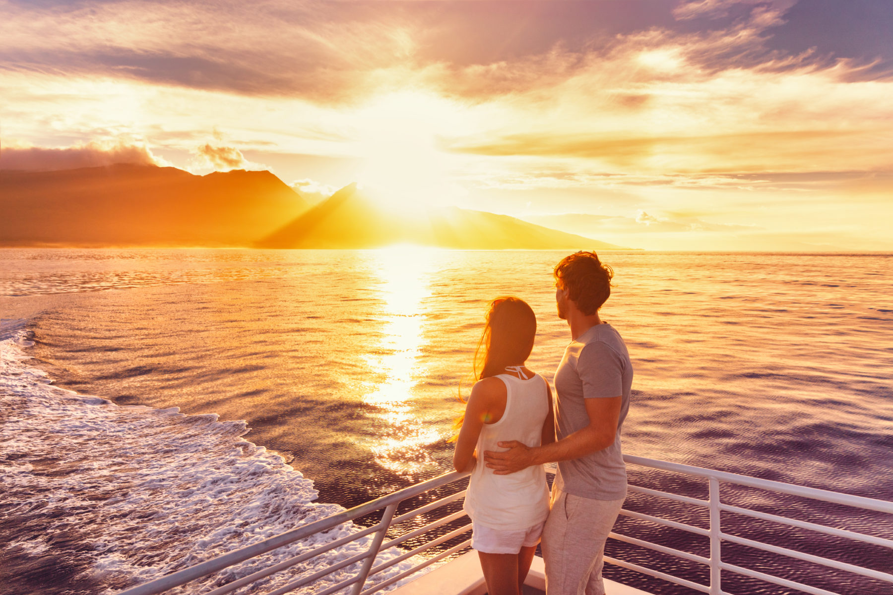 Romantic Maui sunset cruise