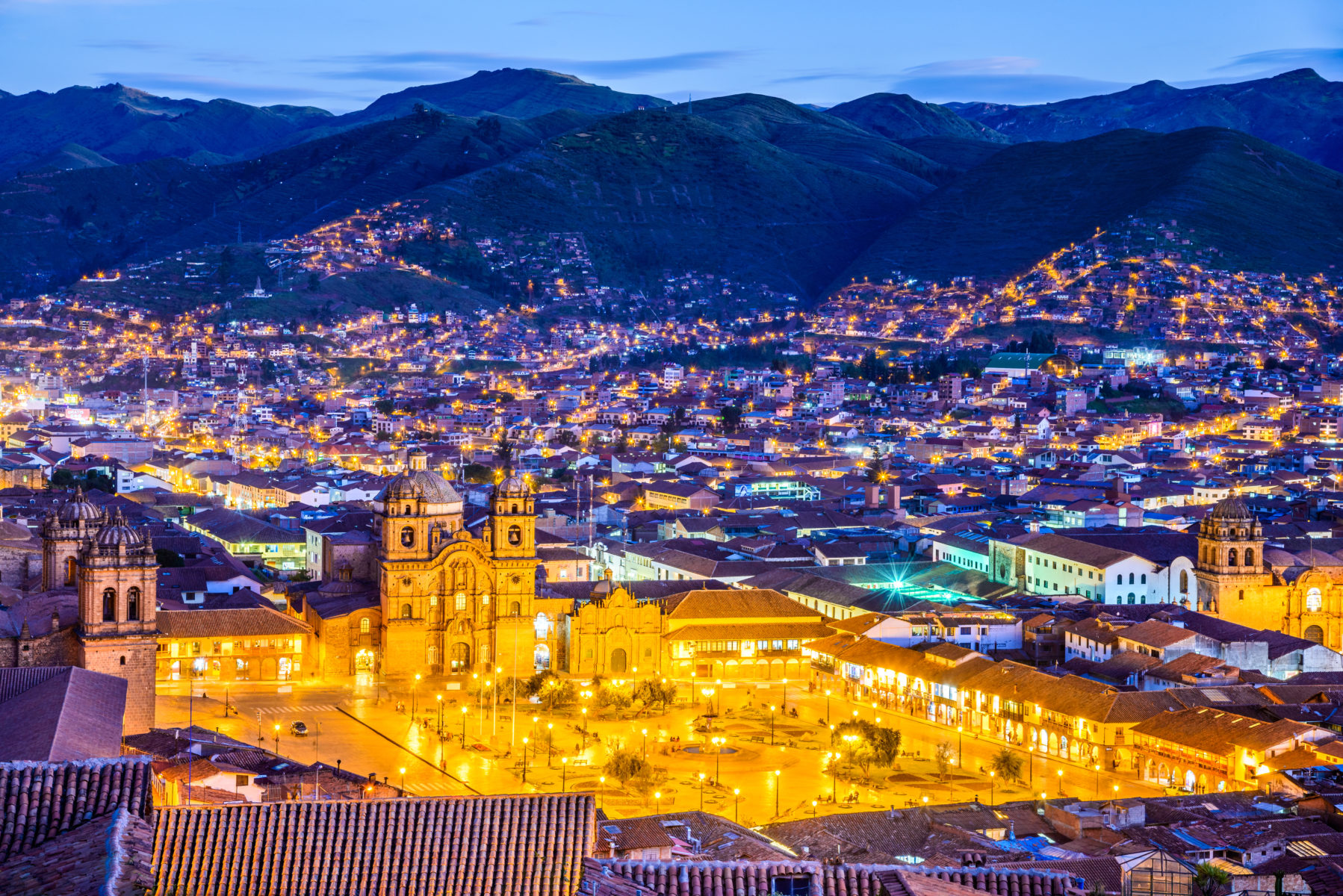 View of Cusco, Peru