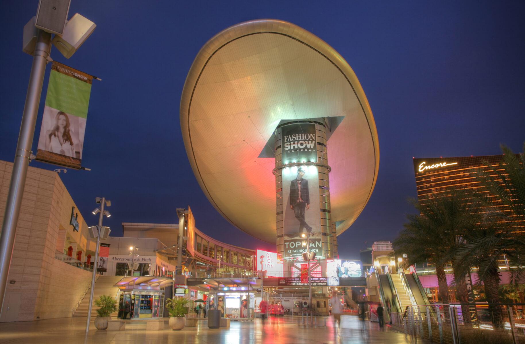 Fashion Show Mall in Las Vegas Nevada