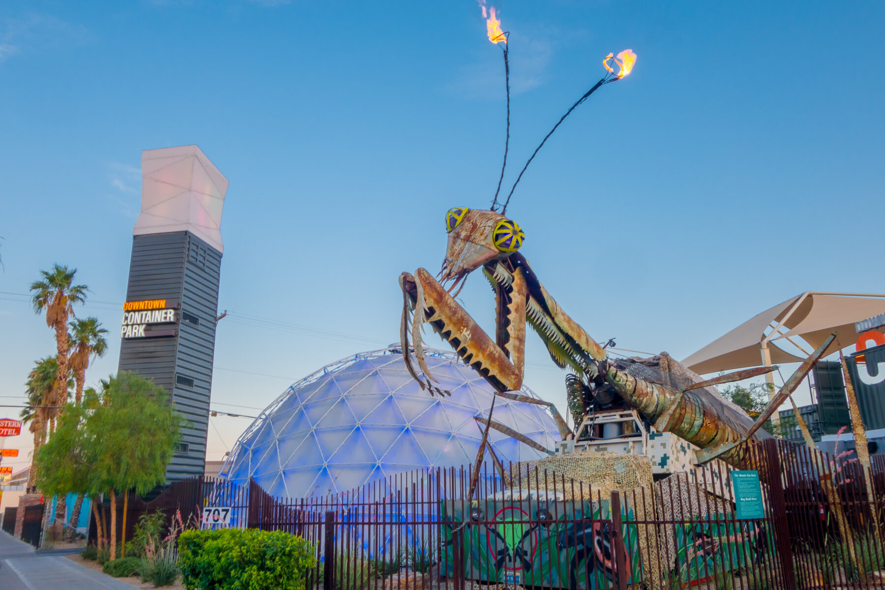 Art sculpture in Las Vegas Nevada