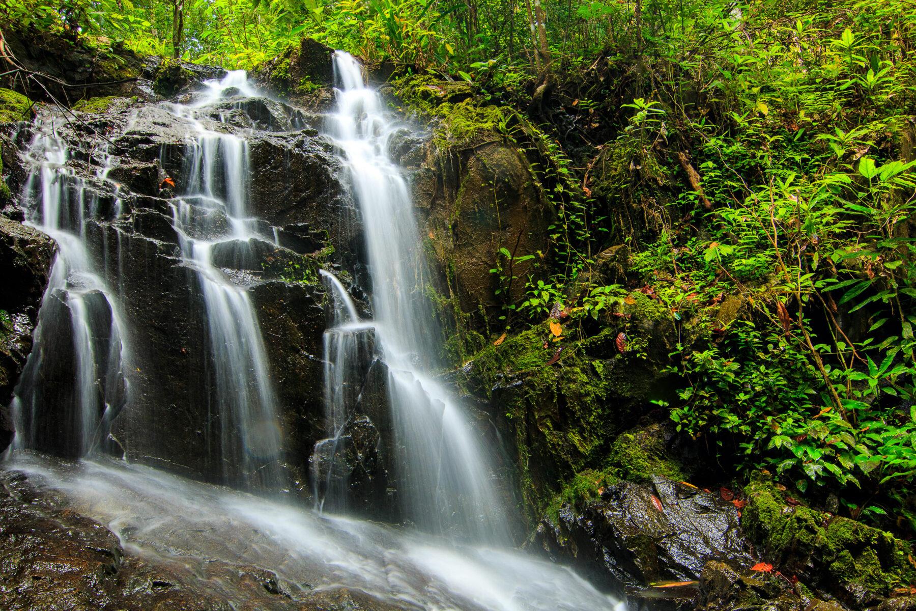Tonsai Waterfall in Phuket, Thailand